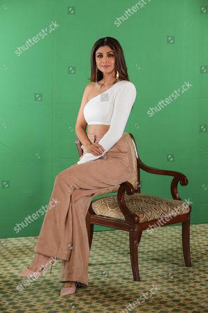 Editorial image of Shilpa Shetty photo shoot, New Delhi, India - 30 Nov 2018