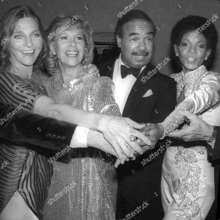 Judy Collins Dinah Shore Bobby Short and Melba Moore USA New York City