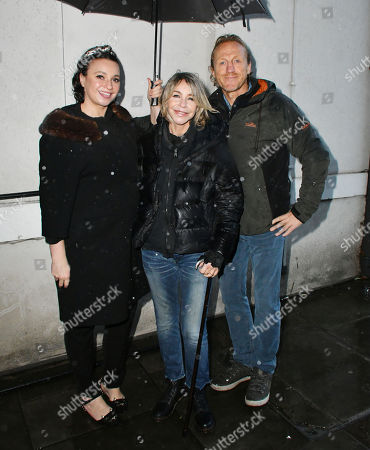 Gizzi Erskine, Leslie Ash, Jerome Flynn - Photocall for Factory Farming Investment Risks campaign film opposing plans for a massive pig farm in Northern Ireland, in Lough Foyle where Game of Thrones is filmed,