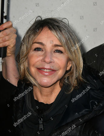 Leslie Ash - Photocall for Factory Farming Investment Risks campaign film opposing plans for a massive pig farm in Northern Ireland, in Lough Foyle where Game of Thrones is filmed,