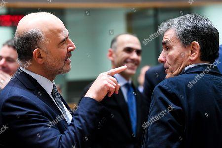 Euclid Tsakalotos, Pierre Moscovici
