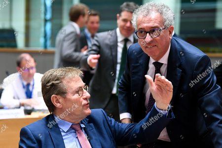 Johan Van Overtveldt, Pierre Gramegna