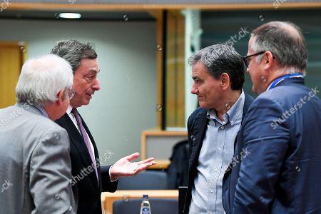 Mario Draghi, Euclid Tsakalotos