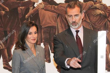 'Poetics of Democracy' exhibition opening, Madrid