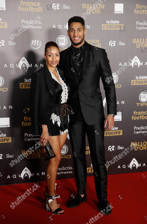 Stock Picture of French boxert Tony Yoka (R) and Fench boxer Estelle Mossely