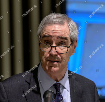 President and Rector of Central European University (CEU) Michael Ignatieff speaks during a press conference held about the future of CEU in Budapest, Hungary, 03 December 2018. Leaders of the institute announced that it will launch all US-accredited degree programs in Vienna in September 2019.