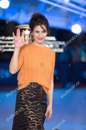 Valentina Cervi attends the premiere of 'Roma' during the 17th Marrakech International Film Festival, in Marrakesh, Morocco, 03 December 2018. The festival runs from 30 November to 08 December.