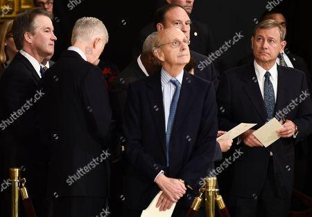 Editorial photo of George H.W. Bush dies at 94, Washington, USA - 03 Dec 2018