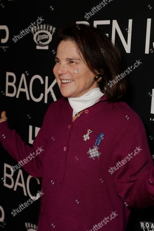 Stock Image of Tovah Feldshuh attends the New York premiere of BEN IS BACK