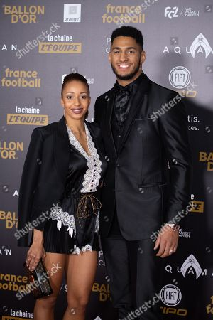 Tony Yoka and Estelle Mossely
