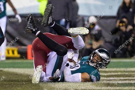 Philadelphia Eagles wide receiver Jordan Matthews (80) scores the touchdown  over Washington Redskins defensive ... 9c1848617
