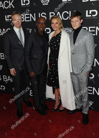 Peter Hedges, Courtney B Vance, Julia Roberts and Lucas Hedges