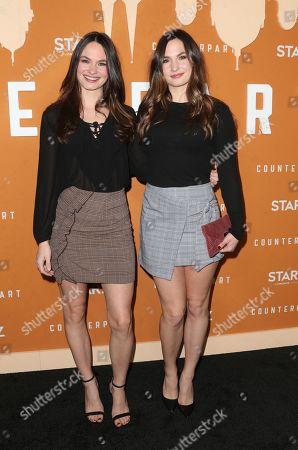 Editorial photo of 'Counterpart' TV show premiere, Arrivals, Los Angeles, USA - 03 Dec 2018