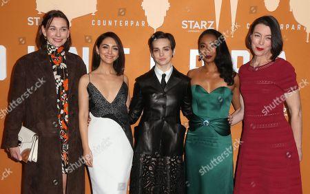 Christiane Paul, Nazanin Boniadi, Sara Serraiocco, Betty Gabriel, Olivia Williams