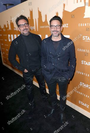 Lawrence Zarian, Gregory Zarian. Lawrence Zarian, left, and Gregory Zarian attend the STARZ Counterpart Season 2 Premiere at the Arclight Hollywood on in Los Angeles