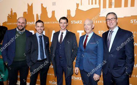 Editorial image of STARZ Counterpart Season 2 Premiere, Los Angeles, USA - 03 Dec 2018