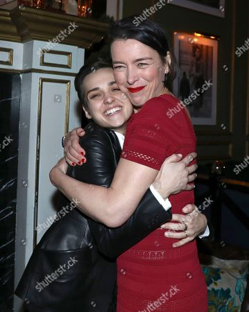 Sara Serraiocco, Olivia Williams. Sara Serraiocco, left, and Olivia Williams attend the STARZ Counterpart Season 2 Premiere afterparty at Warwick Bar on in Los Angeles