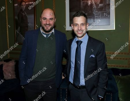 Jordan Horowitz, Justin Marks. Jordan Horowitz, left, and Justin Marks attend the STARZ Counterpart Season 2 Premiere afterparty at Warwick Bar on in Los Angeles