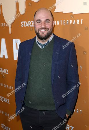 Jordan Horowitz attends the STARZ Counterpart Season 2 Premiere at the Arclight Hollywood on in Los Angeles