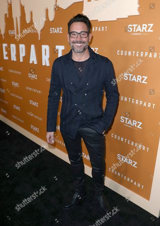 Gregory Zarian attends the STARZ Counterpart Season 2 Premiere at the Arclight Hollywood on in Los Angeles