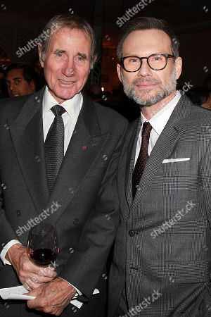 Jim Dale and Christian Slater