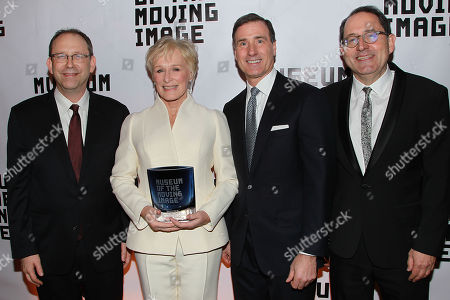 Stock Picture of Carl Goodman, Glenn Close, Ivan Lustig and Michael Barker