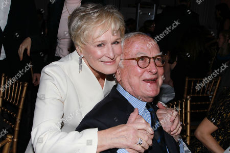 Stock Photo of Glenn Close and James Ivory