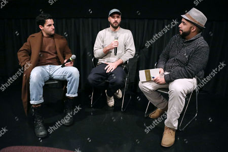 Christopher Abbott, Sebastian Silva (Director) and Clayton Davis