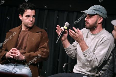 Stock Image of Christopher Abbott and Sebastian Silva (Director)