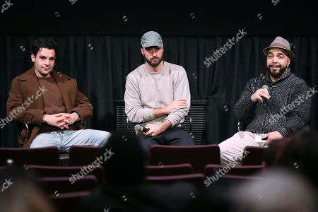 """Editorial image of Q&A for """"TYREL"""" with Director Sebastian Silva and Christopher Abbott, New York, USA - 03 Dec 2018"""
