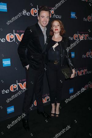 Erich Bergen and Jessica Keenan Wynn