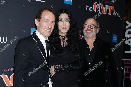 Jeffrey Seller, Cher, and Flody Suarez