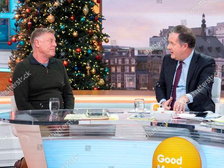 Piers Morgan with Steve Jones