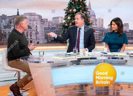 Piers Morgan and Susanna Reid with   Steve Jones