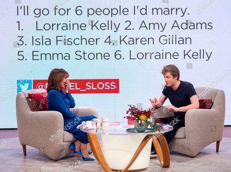 Editorial picture of 'Lorraine' TV show, London, UK - 04 Dec 2018