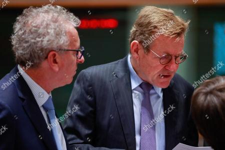 Editorial photo of Economic and Financial affairs meeting (ECOFIN), Brussels, Belgium - 04 Dec 2018