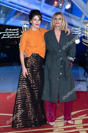 Stock Photo of Valentina Cervi and Isabella Ferrari attend the premiere of 'Roma' during the 17th Marrakech International Film Festival on December 3, 2018 in Marrakech, Morocco.//VULAURENT__C030161/Credit:Laurent VU/SIPA/1812040928