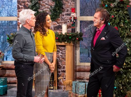 Phillip Schofield and Rochelle Humes with Engelbert Humperdinck