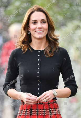 Prince William and Catherine Duchess of Cambridge host lunch for military personnel, London