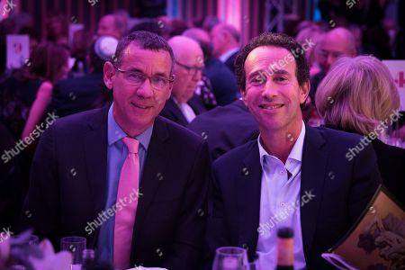 Ambassador Mark Regev with Sir Trevor Pears.