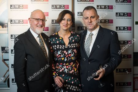 Stock Photo of Henry Grunwald QC with Marc and Gabi Nohr.
