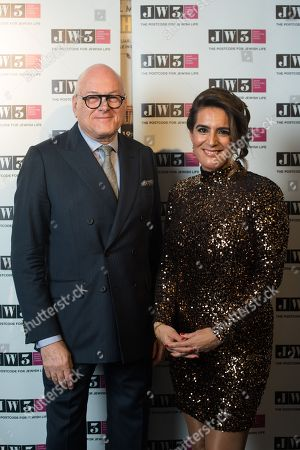 Editorial picture of JW3 Annual Dinner, London, UK - 03 Dec 2018