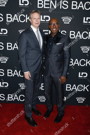 Peter Hedges and Courtney B Vance