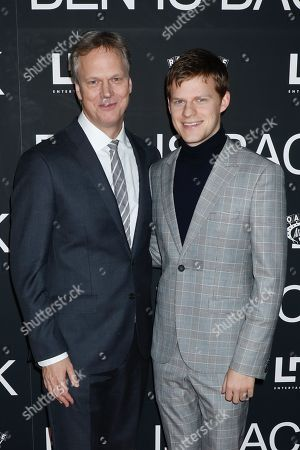 Peter Hedges and Lucas Hedges