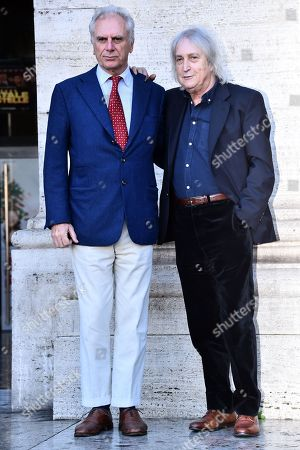 Stock Picture of Marco Risi and Enrico Vanzina