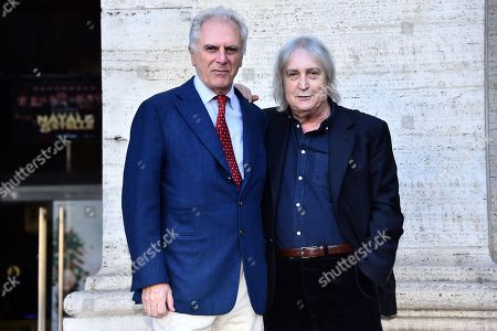 Editorial image of 'Natale A Cinque Stelle' film photocall, Rome, Italy - 04 Dec 2018