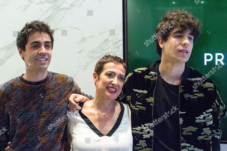 Javier Ambrossi, Maria Guerra and Javier Calvo