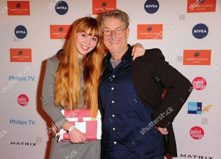 Stock Photo of Martin Semmelrogge, daughter Joanna