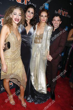 Stock Photo of Micaela Diamond, Stephanie J. Block, Teal Wick and Jarrod Spector