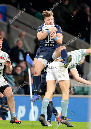 Editorial photo of Oxford v Cambridge, Varsity Match, Rugby Union, Twickenham Stadium, London, UK - 06 Dec 2018